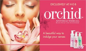 ENDED: New HEB beauty product: Orchid + giveaway #hebbeauty