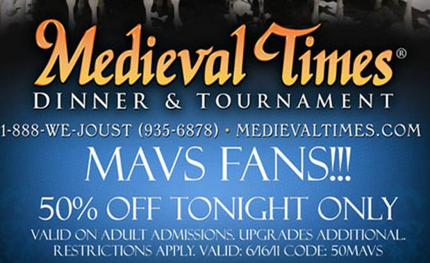Save with a 50% Off Medieval Times coupon code and other free promo code, discount voucher at portedella.ml There are 37 portedella.ml coupons available in December
