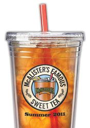 photograph relating to Mcalister's Coupons Printable titled McAlisters Tea Tumbler is Again! - My Insane Price savings