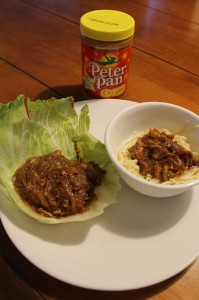 HEB Meal Maker Challenge Week #1 Quick and easy meal with Peter Pan Peanut Butter #HEBack2School