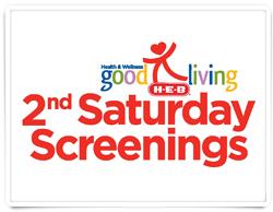HEB 2nd Saturday Screenings (this weekend)