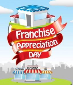 Franchise Appreciation Day September 3rd