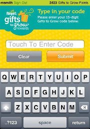 New Pampers Gifts to Grow Smartphone App