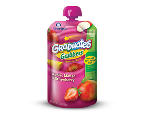 New Gerber Graduate Grabbers for Toddlers
