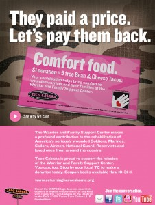 Pay it Forward with Taco Cabana and get 5 FREE Bean and Cheese Tacos!