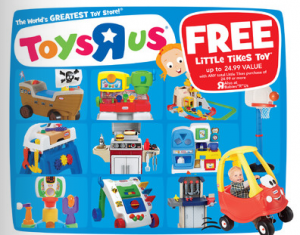 Buy One Get One FREE Little Tikes Toys