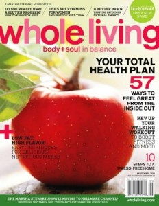 Whole Living Magazine $3.99/year