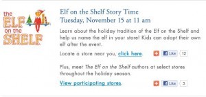 Holiday Traditions: Elf on the Shelf