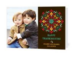 FREE Thanksgiving Personalized Greeting Card (today only)
