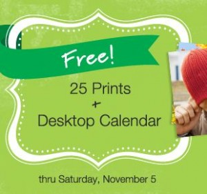 25 FREE Prints and Desk Calendar from Walgreens!