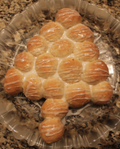25 Days of Christmas Cookies: Day 25 Christmas Tree Bread
