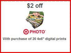 20 FREE Prints at Target