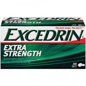 RECALL: Bufferin, Excedrin, Gas-X, and NoDoz products