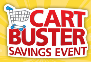 Kroger: Cart Buster Savings Event (+ Giveaway) #MyBlogSpark