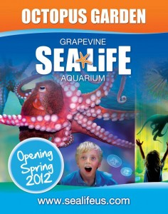 Sea Life Aquarium Opens new Octopus Garden