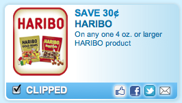 Walgreens: Haribo Gummy Candy $0.49 (after coupon)