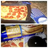 ENDED: New Pillsbury Artisan Pizza Crust (+ Giveaway) #MyBlogSpark