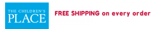 FREE Shipping at The Children's Place