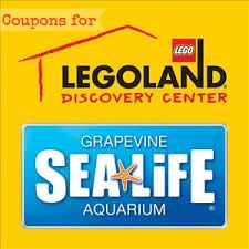 graphic about Legoland Printable Coupons called Summer months 2013 LegoLand Discovery Heart Dallas and Sea Daily life
