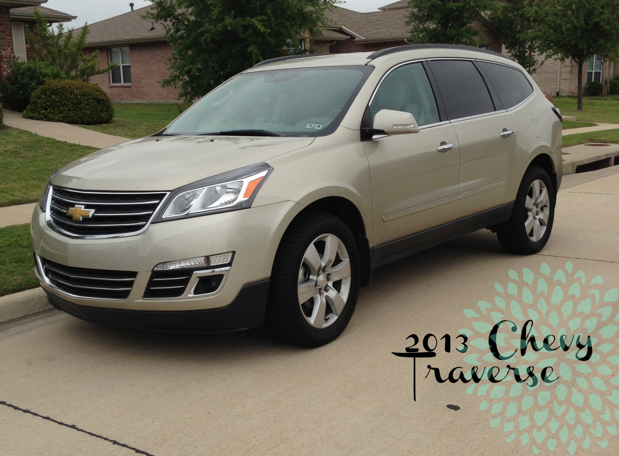 Road Tripin' with 2013 Chevy Traverse