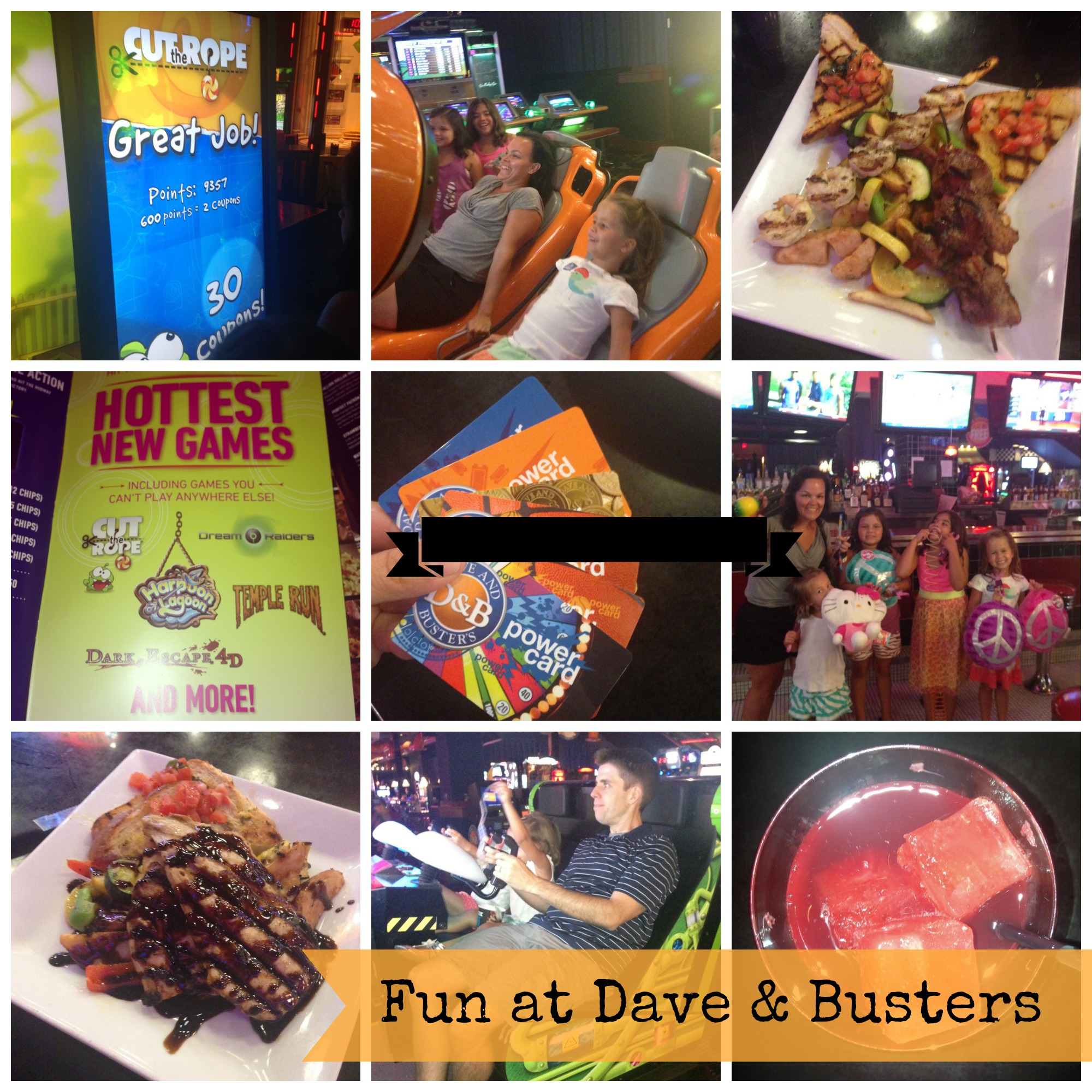 Dave and busters printable coupons january 2013 - If You Follow Me On Facebook Or Twitter You Got To See It All Unfold I Loaded Up My Sweet Family And We Enjoyed A Night At Dave And Busters