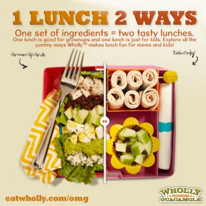 Back to School: Lunch Ideas and Coupon from Wholly Guac