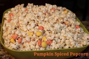 Recipe: Pumpkin Spice Popcorn