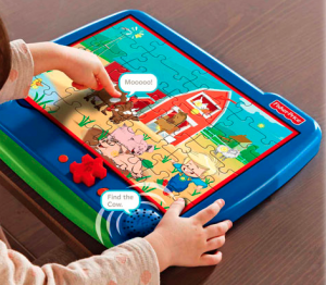 Holiday Gift Guide: Fisher Price I-Jig Interactive Electronic Puzzle System from TCG