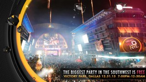 New Years Even fun with #BigDNYE presented by @GMCDFW
