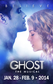 Ghost The Musical is coming to Dallas Summer Musicals Jan 28-Feb 9th
