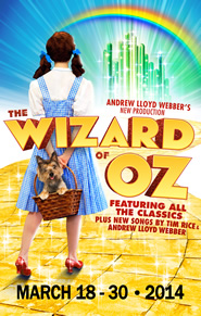 The Wizard of Oz is coming to Dallas Summer Musicals March 18-30th