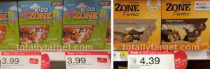 Zone Perfect Protein Bars as low as $1.04/box