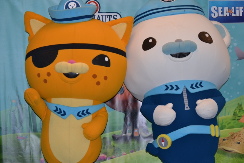 Octonauts at SEA LIFE Aquarium