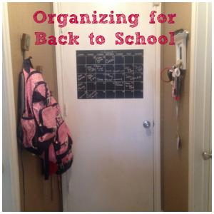 ENDED: Getting Organized to go Back to School (+ Giveaway!)