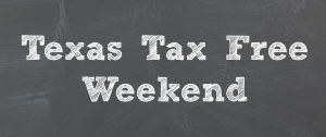 Tax Free Shopping this weekend in Texas (+ Printable Coupons)