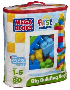 Christmas Gift Idea: Mega Bloks First Builders Big Building Bag $14.88