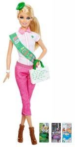 Christmas Gift Idea: Girl Scout Barbie $6.49