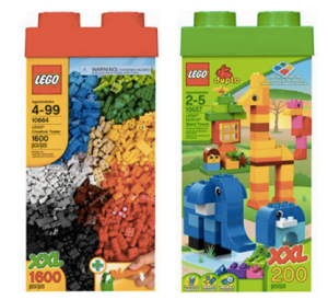 LEGO Giant Creative Tower 1,600 pieces w/ storage box $35 (Reg. $69.97)