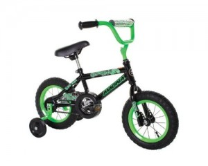 Dynacraft Magna Gravel Blaster Boy's Bike (12-Inch, Green/Black) $47.99