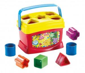 Fisher-Price Brilliant Basics Baby's First Blocks $6.11
