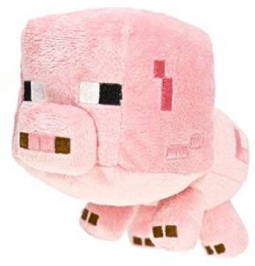 Minecraft Baby Pig 7″ Plush for $7.99