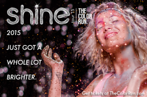 The Color Run Shine Tour 5K is coming to Dallas
