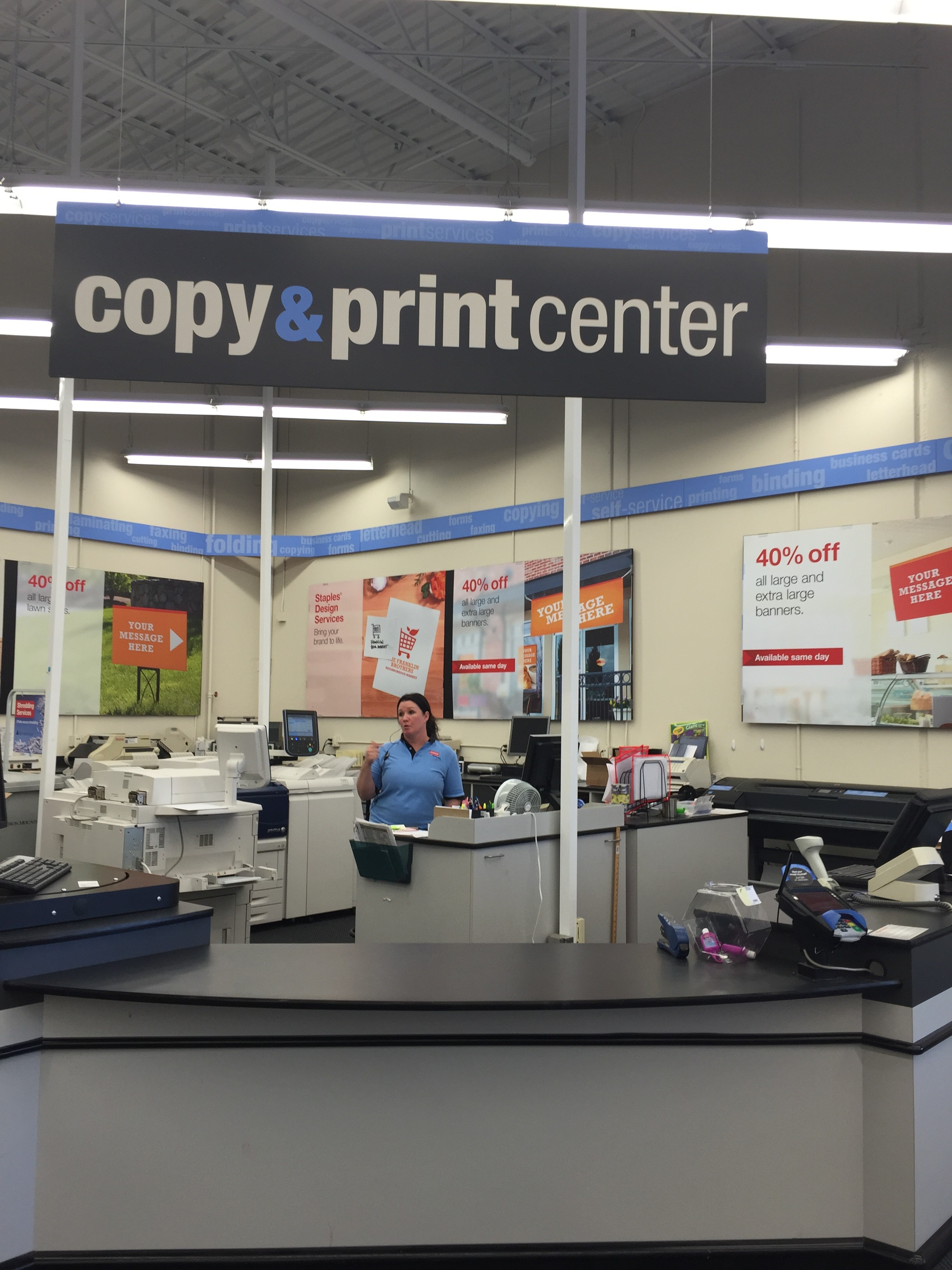 Staples copy and print banner coupon