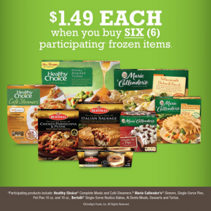 Kroger: Six Frozen Meals as low as $1.49 each