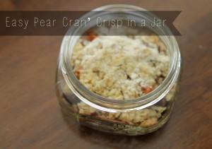 Recipe: Pear Cran' Crisp made with SPLENDA® Sweetener Products