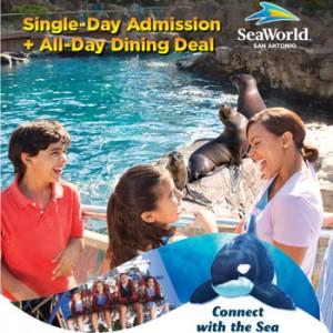 HOT deal on SeaWorld San Antonio Admission