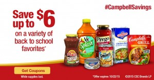 Back to School Savings with Campbell's (Coupons!)