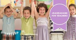 Raise A Hand for Teachers #RaiseAHand