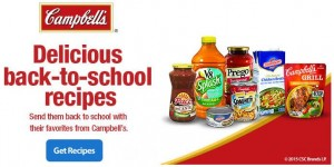 Back to School Recipes (+ Savings!)