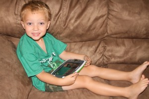 Educational Play with Leapfrog Platinum and Imagicards